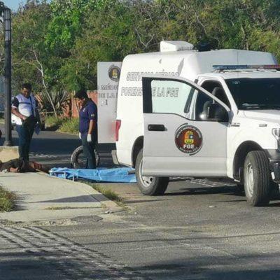 Hallan cuerpo torturado tirado en una calle de Playa del Carmen