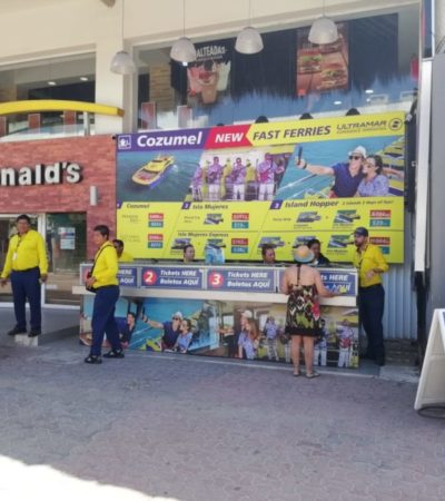 Incrementa Ultramar sus tarifas para ingresar a la isla de Cozumel