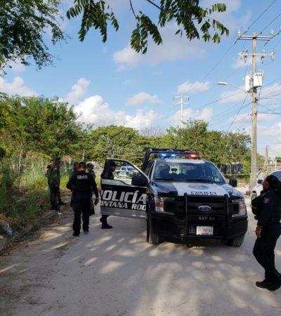 ASESINAN A UNA MUJER EN LA SM 521: Con el rostro cubierto con cinta adhesiva, hallan cuerpo de la primera ejecutada de marzo en Cancún