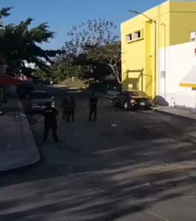 ATAQUE CONTRA POLICÍA EN LAS PALMAS: Matan a comandante Madrazo en Playa del Carmen; su esposa, herida