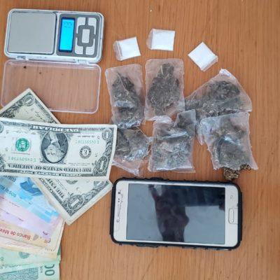 Detienen a dos narcomenudistas en Playa del Carmen