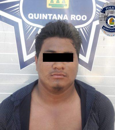 Capturan a presunto asaltante armado tras cometer un atraco en unas oficinas de la Región 93