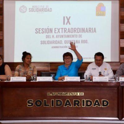 Cabildo toma protesta a las nuevas directoras de Egresos e Ingresos de Solidaridad