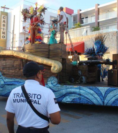 Solidarenses, visitantes y participantes disfrutaron de un Carnaval seguro en Playa del Carmen