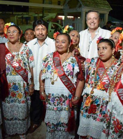 PRESERVAN LA CULTURA MAYA EN TULUM: Inaugura Alcalde fiestas en honor de la Santa Cruz en el Centro Ceremonial Maya