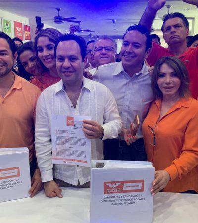 REGISTRA MC A SUS CANDIDATOS AL CONGRESO: Encabezan la lista personajes como 'Chanito' Toledo y 'Chacho' García Zalvidea; advierten 'guerra sucia' en ciernes