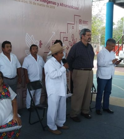 SE PROFUNDIZA DIVISIÓN ENTRE DIGNATARIOS MAYAS: Presencia de José Isabel Sulub Cimá en el presidium, provoca enfrentamiento durante Foro de Consulta a los Pueblos Indígenas en FCP