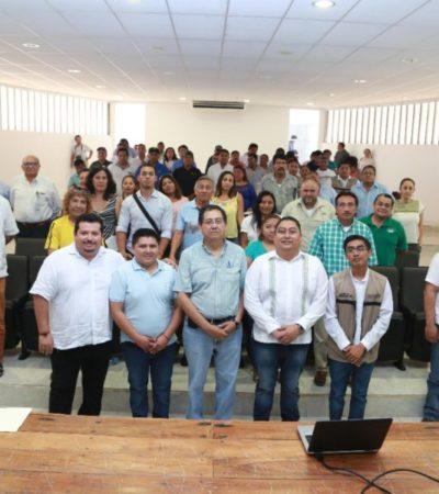 Capacitan a productores para tramitar adecuadamente recursos federales en Tulum