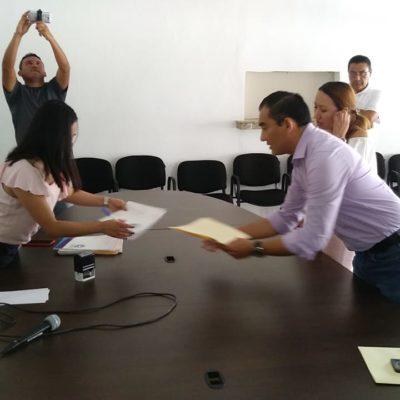 Registra partido joaquinista a sus candidatos a diputados locales en QR