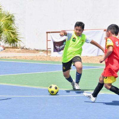 Concluye el visoreo de Futsal y 4 infantes de Tulum van a la Selección Mexicana Infantil de Fútbol de Salón.