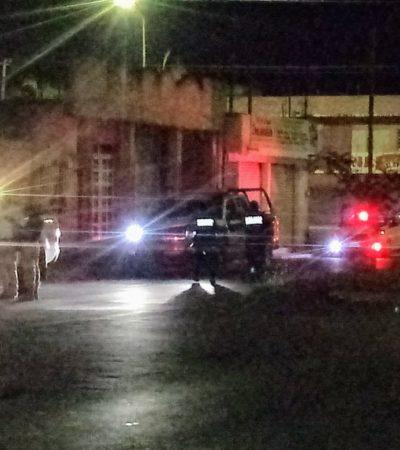 Impiden colocación de otra manta con mensaje en Chetumal, pero no hay detenidos