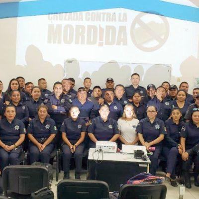 'CRUZADA CONTRA LA MORDIDA' EN TULUM: Lanza comuna campaña permanente contra malas prácticas de la policía