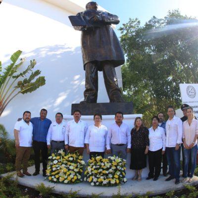 En el aniversario de Juárez, pide Laura Beristain trabajar por un municipio en paz