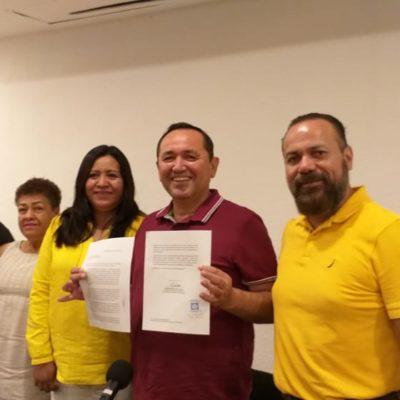 OFICIALIZA NIVARDO SU SALTO AL PRD: Alcalde de Lázaro Cárdenas renuncia al PT y su alianza con Morena
