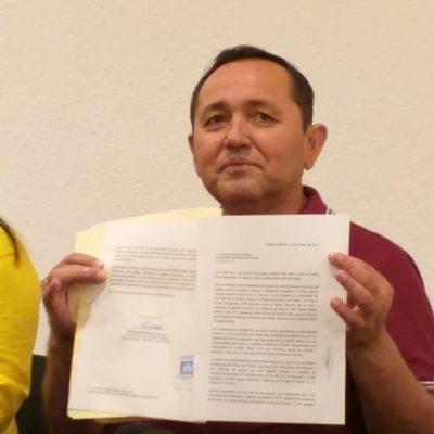 """""""Renuncia de Nivardo Mena es lamentable y poco coherente,pero sigue siendo mi amigo"""", asegura Edgar Gasca"""