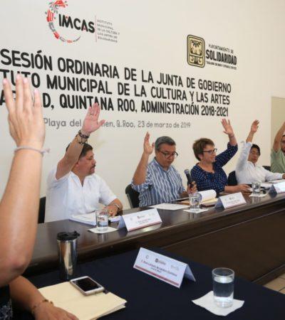Instalan Junta de Gobierno del Instituto Municipal de la Cultura y las Artes de Solidaridad