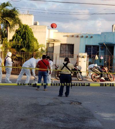 Ejecutan a motociclista en el fraccionamiento Villas del Mar de la Región 248 de Cancún