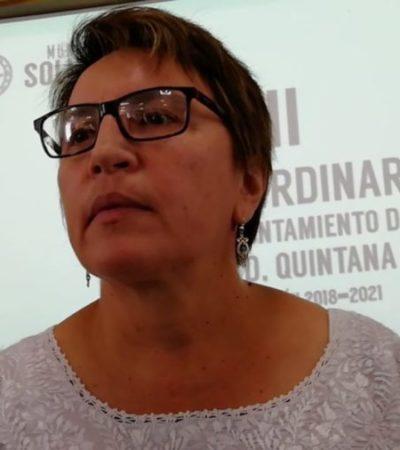 """""""PEDIMOS AMOR Y PAZ"""": Laura Beristain solicita a la prensa respeto, luego que regidores exigieran renuncia de funcionaria que agredió a reportero"""