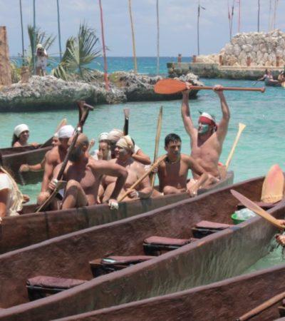 ANUNCIAN LA 13ª TRAVESÍA SAGRADA MAYA: Este año contará con la participación de 380 canoeros para cruzar el Mar Caribe