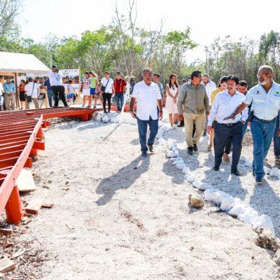 Con inversión de 11.7 mdp, construyen el moderno e inclusivo 'Parque de la Alegría' en Tulum