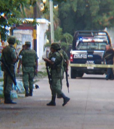 ABANDONAN A EJECUTADO EN LA REGIÓN 230: Tras un día sin muertos, hallan a ensabanado cerca de la avenida Talleres de Cancún