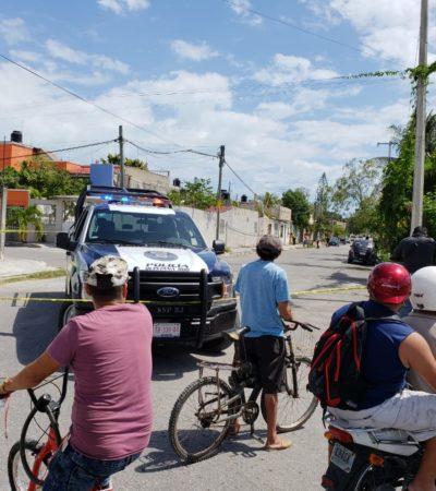 Atacan a balazos un domicilio en la Región 240 de Cancún