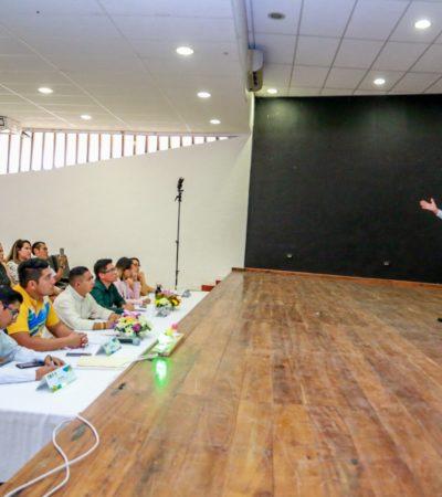 Realizan Concurso Municipal de Oratoria Juvenil 2019 en Tulum