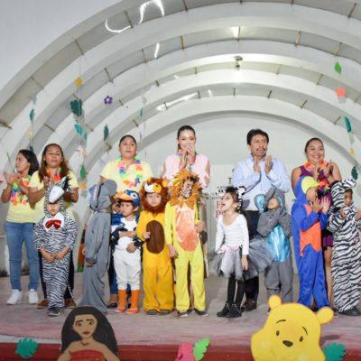 Asiste Alcalde al Festival de Primavera del CADI Tulum