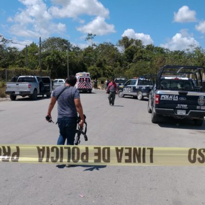 PRELIMINAR | TIROTEAN A CONDUCTOR DE TAXI EN CANCÚN: Autoridades investigan si el baleado se trata de un presunto agente ministerial