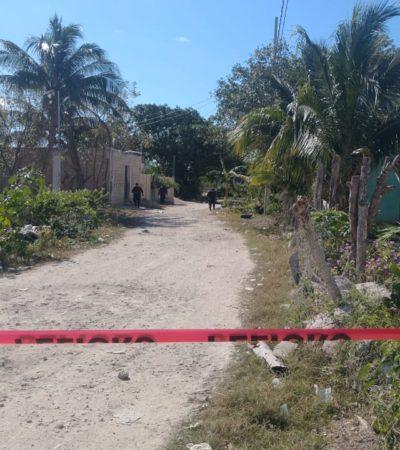 Movilización policiaca por reporte de disparos en la colonia Montes Olivo de la zona continental de Isla Mujeres