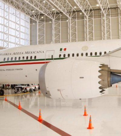 Asegura AMLO que la ONU publicará anuncio de venta del avión presidencial en su portal de internet