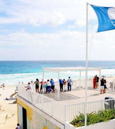 Playas concesionadas de Cancún también tendrán Blue Flag, afirma Francisco López, director de Turismo en BJ