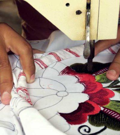 BORDAR, UN ARTE QUE VISTE LA CULTURA: Con hilo y costura, artesanos de la Zona Maya de Tulum se abren paso y y dan auge a la ropa típica