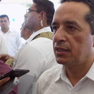 Carlos Joaquín descarta cambios en la Secretaría de Seguridad Pública, pese a alza en homicidios; asegura que están trabajando