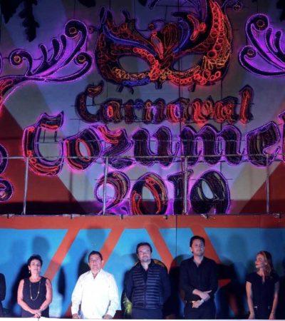 Cayó el telón del Carnaval Cozumel 2019