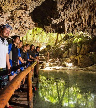Iniciarán operativos en cenotes y parques ecoturísticos de Playa del Carmen, previo a temporada alta de Semana Santa