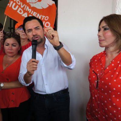 Encabeza José Luis Toledo la lista de candidatos plurinominales de Movimiento Ciudadano; Gabriela López Pallares va segundo
