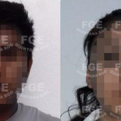 Detienen a una pareja por el asesinato de un hombre en Chetumal en junio del 2018