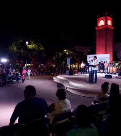 Rescata Pedro Joaquín el programa 'Domingos Familiares' en Cozumel