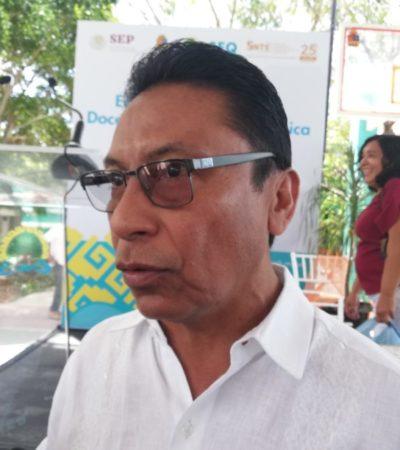 Anuncia Carlos Gorocica que la Secretaría de Educación de QR contempla la construcción de diez escuelas de nivel básico en el norte del estado