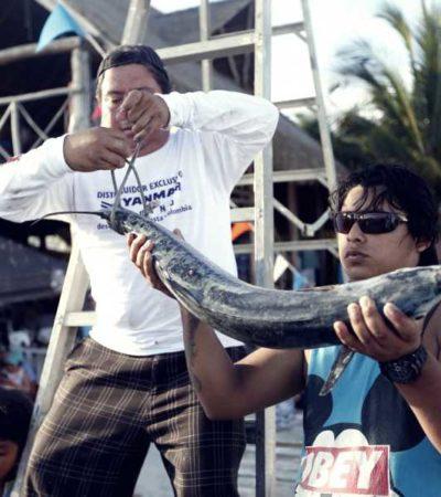 Avanza Ayuntamiento de Isla Mujeres en la organización de tradicionales eventos de pesca