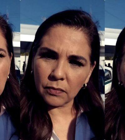 """""""NO CAMBIARÁ LA ESTRATEGIA, ES PROTOCOLO"""": Después de 4 meses, anuncia Mara que finalmente la semana próxima se firma el 'Mando Único' en Cancún"""