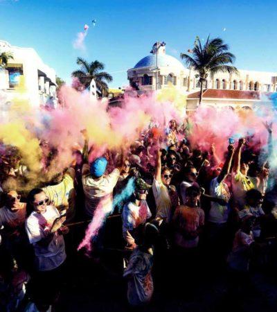 Reactiva en Cozumel la tradicional carrera 'Paint & Run', luego de dos años de no realizarse
