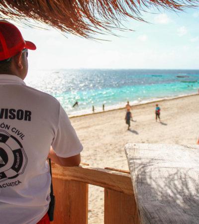 Lanza comuna campaña para hacer buen uso de las playas de Puerto Morelos