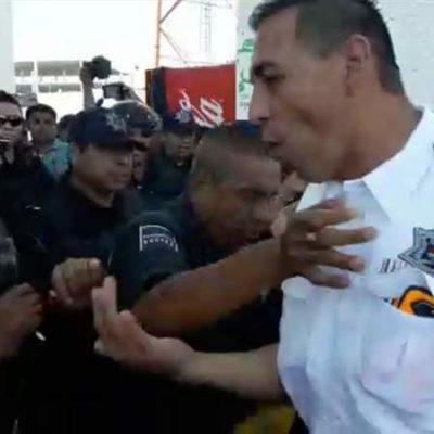 Liberan a 13 policías municipales encarcelados en Cancún por expulsar a Jesús Pérez Abarca de Seguridad Pública