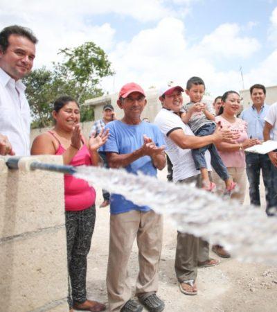 Invierte gobierno de Cozumel 9 mdp en obras de drenaje, agua potable y alumbrado público