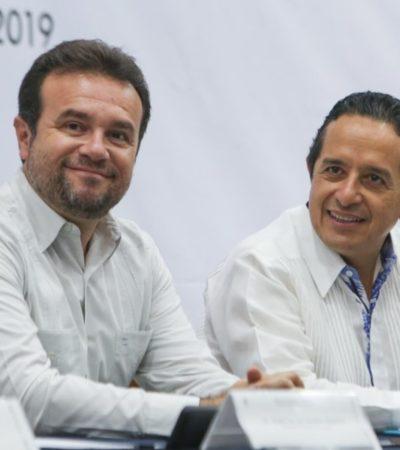 Firman en Cozumel acuerdo entre estado y municipio para investigar y sancionar hechos de corrupción