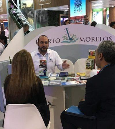 Puerto Morelos concreta nuevas alianzas en el Tianguis Turístico 2019