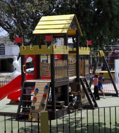 Gobierno de Cozumel pone en marcha el programa 'Urbanismo Cívico' que beneficiará más de 50 parques y áreas de esparcimiento público