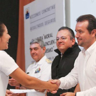 Asegura Pedro Joaquín que Cozumel va por buen camino en materia de seguridad, al ser el único municipio donde se ha reducido sistemáticamente la incidencia delictiva